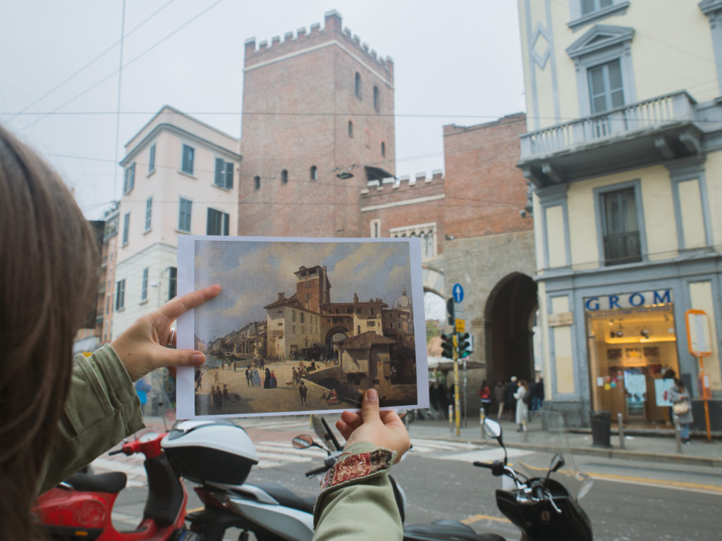 Porta Ticinese medievale (ph. Cinzia Campogiani)